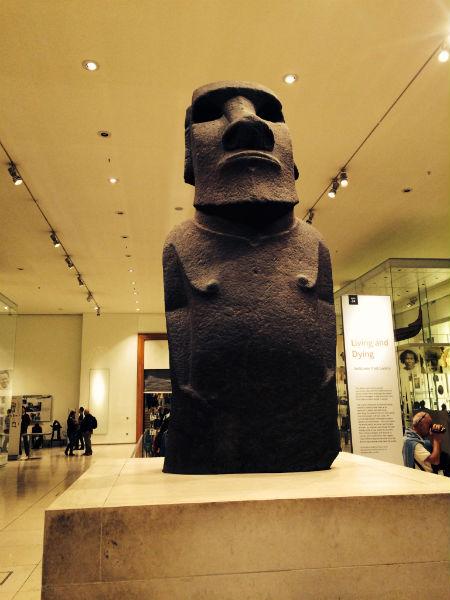 Moai in British Museum