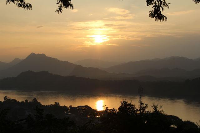 Suset @ Phou Si, Luang Prabang