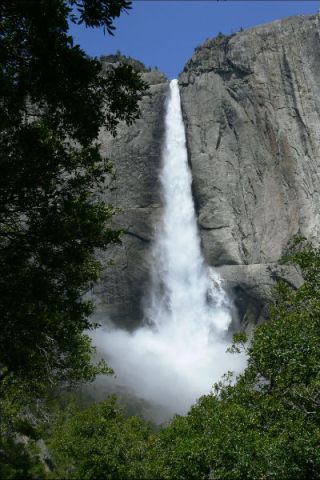 De fantastisch mooie Yosemite Falls