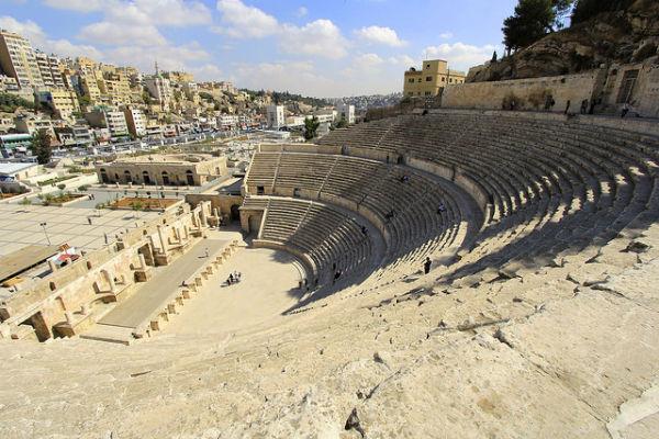 Romeinse Theater in Amman