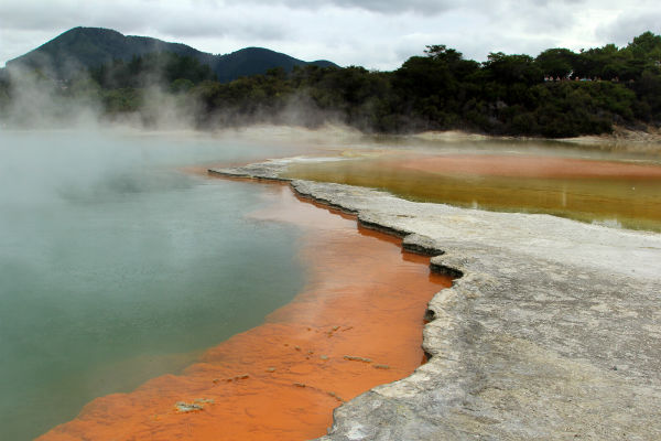 Champagne Pools @ Waiotapu Termal Wonderland