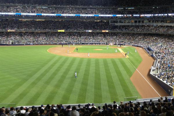 Een spannend potje honkbal
