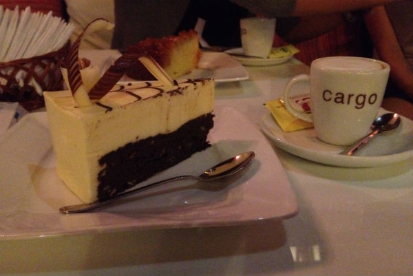 Mijn brownie cheesecake!!