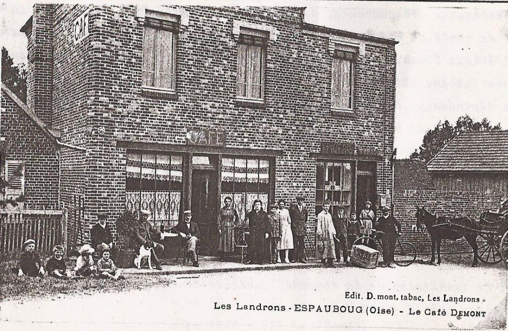 Historique : Café de Dumont dans le roman Le Crime de Blacourt