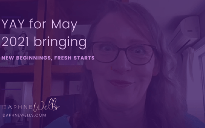 YAY for May with its fresh start and new beginnings.