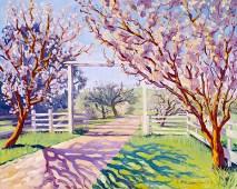 """Spring at the Corral"" by Daphne Wynne Nixon"