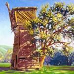 """Tank House vs. Tree"" by Daphne Wynne Nixon"