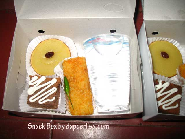 jualan snack box  Dapoer Lisa