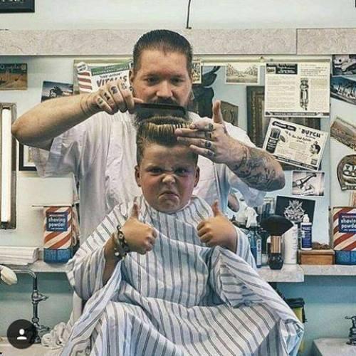 Haircuts for midgets