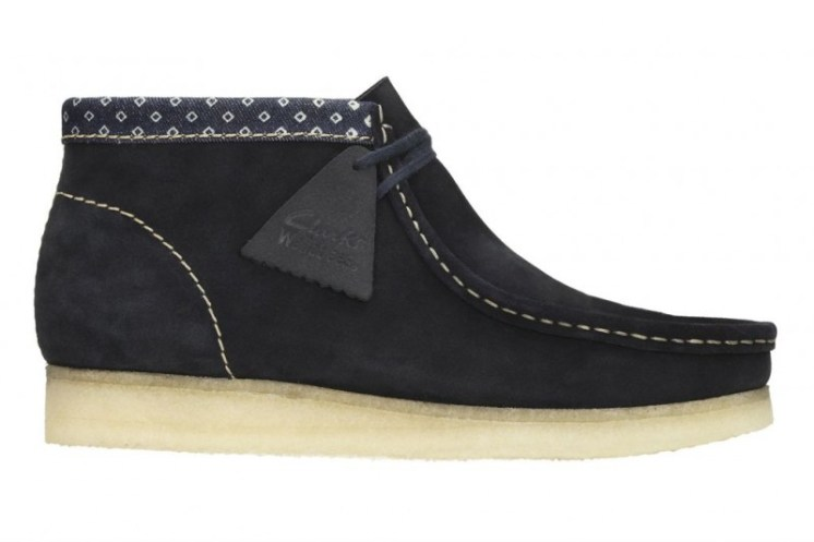 Wallabee Boot Navy Multi £99 €130