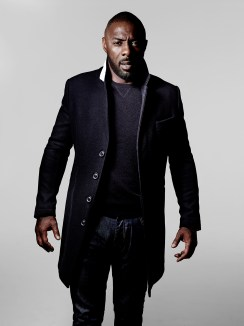 IDRIS ELBA + SUPERDRY COLLECTION LAUNCHES 26.11.15 - IDRIS WEARS THE LEADING LONDON COAT £295, LEADING CASHMERE CREW £125 AND THE IE CLASSIC BLUE J
