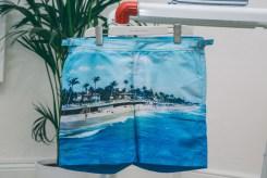 print shorts