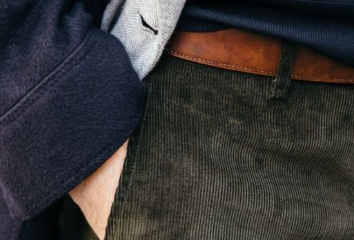 Cord trousers 2