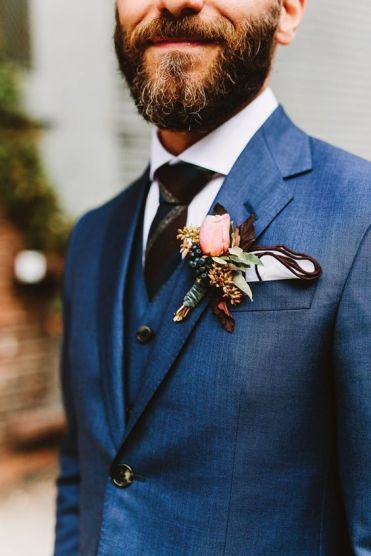 Pocket square wedding