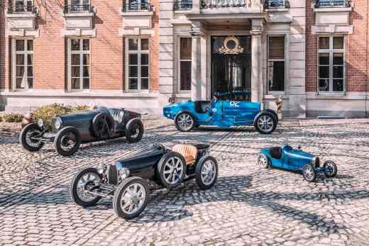 The Bugatti Baby II is a welcome addition to the clients_ extensive Bugatti collection-min