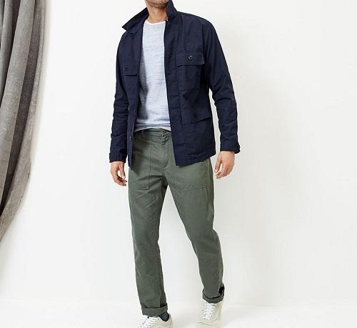 CottonNylon Field Jacket