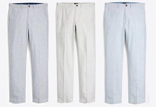 J.C.F. Oxford Cloth Pants