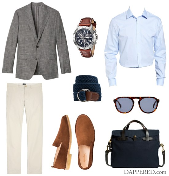 Style Scenario: First Day it gets Hot (dressed up) | Dappered.com