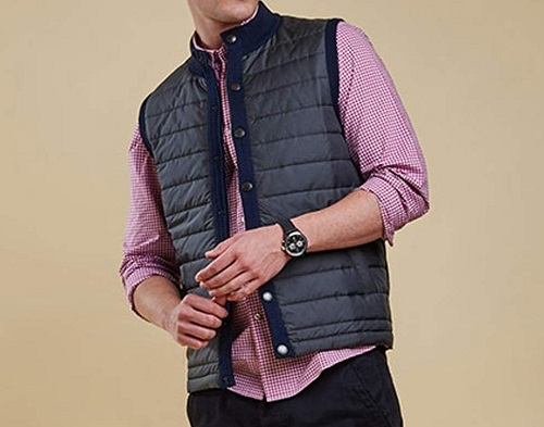 Barbour Tailored Mixed Media Vest