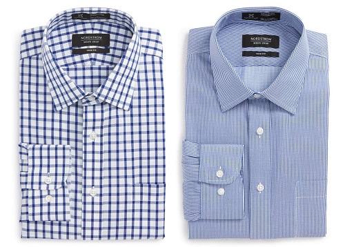Nordstrom Trim Fit Dress Shirts