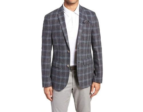 Sand Sportcoat in Wool/Cotton/Linen