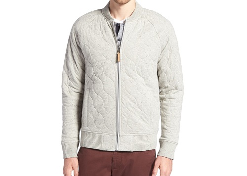 1901 Quilted Bomber Jacket