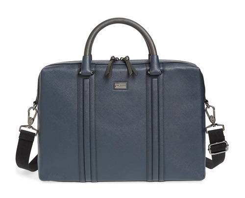 Ted Baker Crossgrain Document Briefcase
