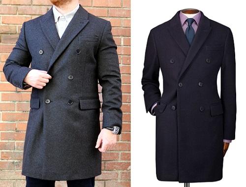 C.Tyrwhitt Wool/Cashmere DB Topcoat
