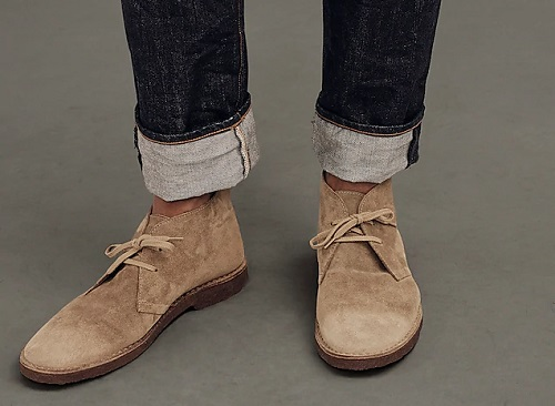 Made in Italy MacAllister Desert Boots