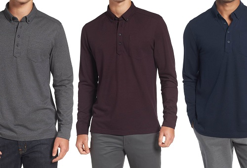 Norstrom Long Sleeve Polo