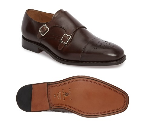 Robert Talbott Goodyear Welted Double Monks