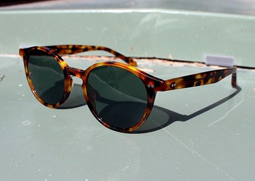 Spier & Mackay Acetate Round Sunglasses