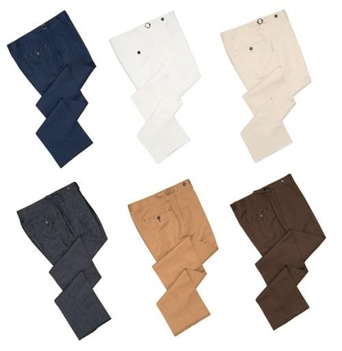 Spier & Mackay Cotton/Linen Dress Trousers