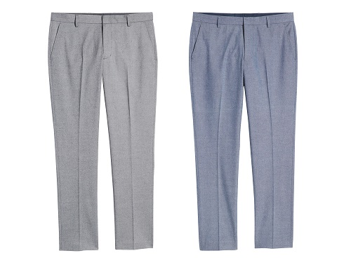 Nordstrom Athletic Fit Textured Chinos