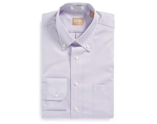 Gitman Regular Fit Pinpoint Cotton Oxford