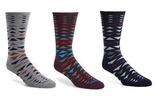 Smartwool Burgee Geometric Socks