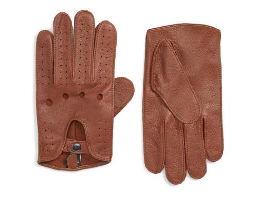 Nordstrom Men's Shop Leather Driving Gloves