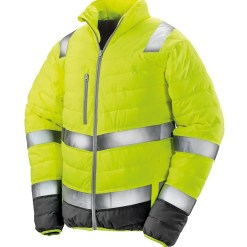 Result Safe-Guard Soft Safety Jacket Yellow Front