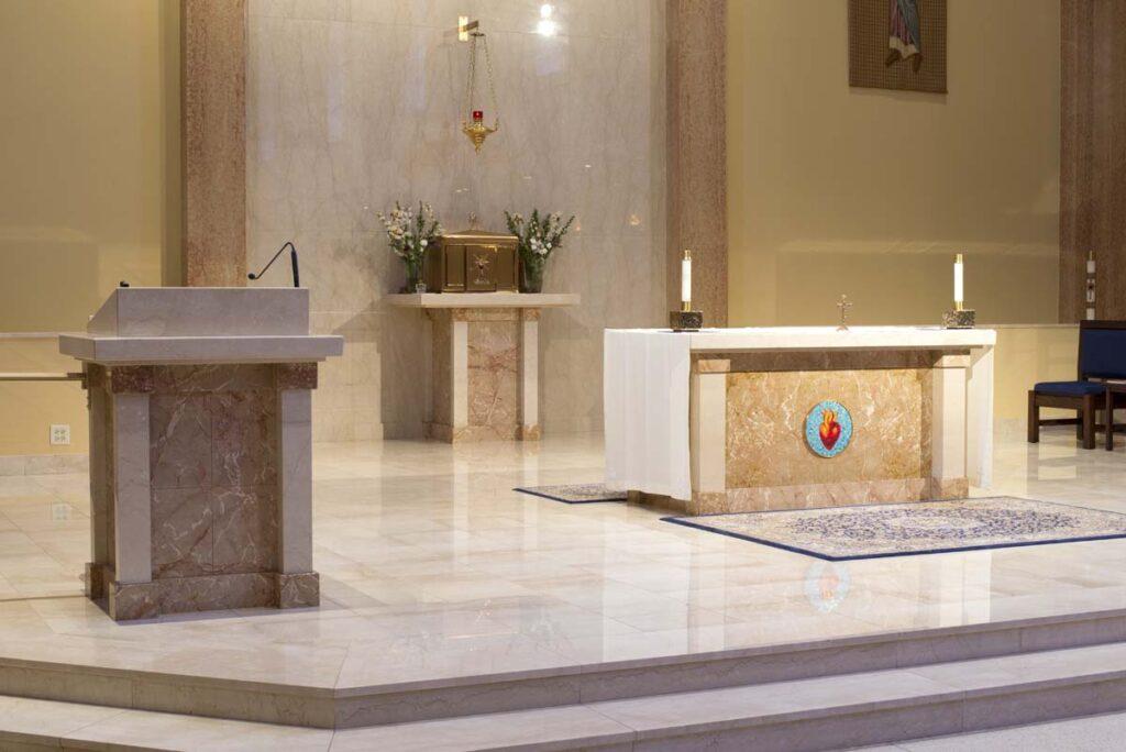 Altars  Furnishings  Daprato Rigali Studios