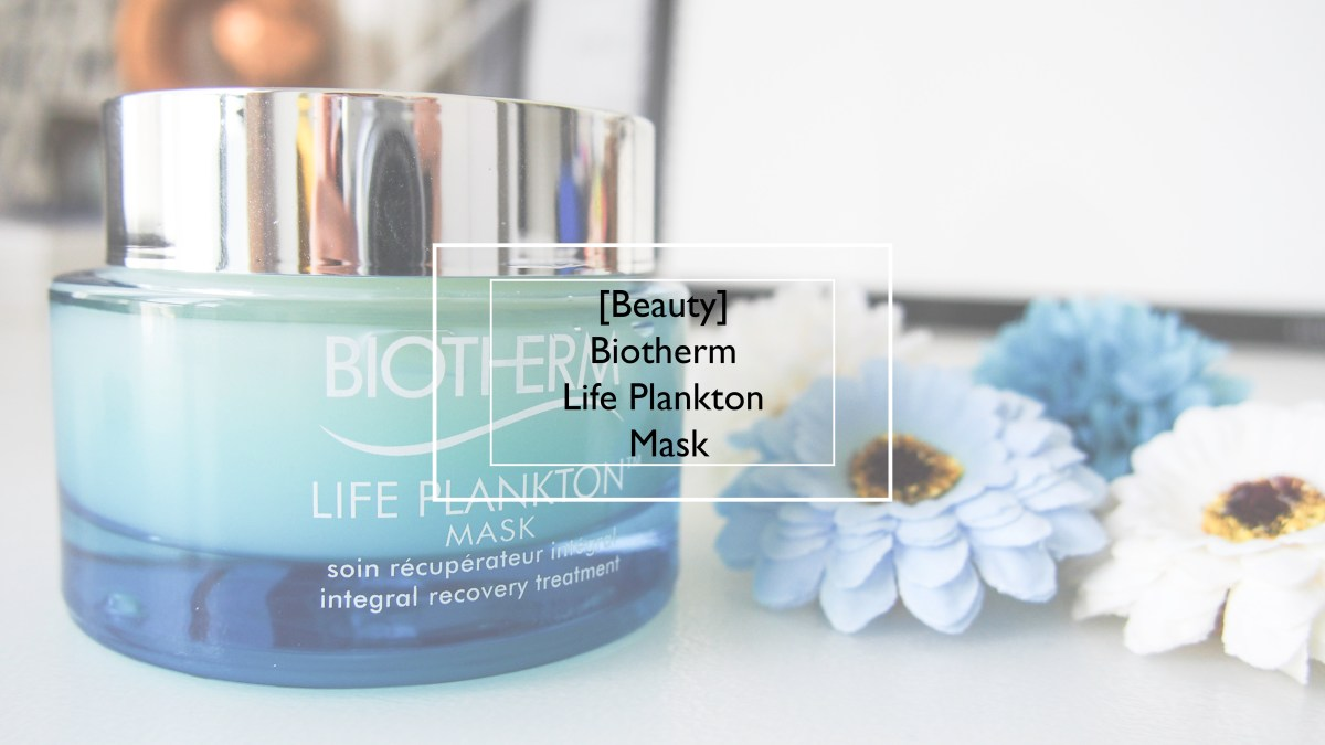 [Beauty] Biotherm Life Plankton™ Mask