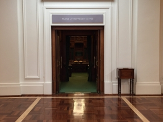 House of Representatives in old Parliament House