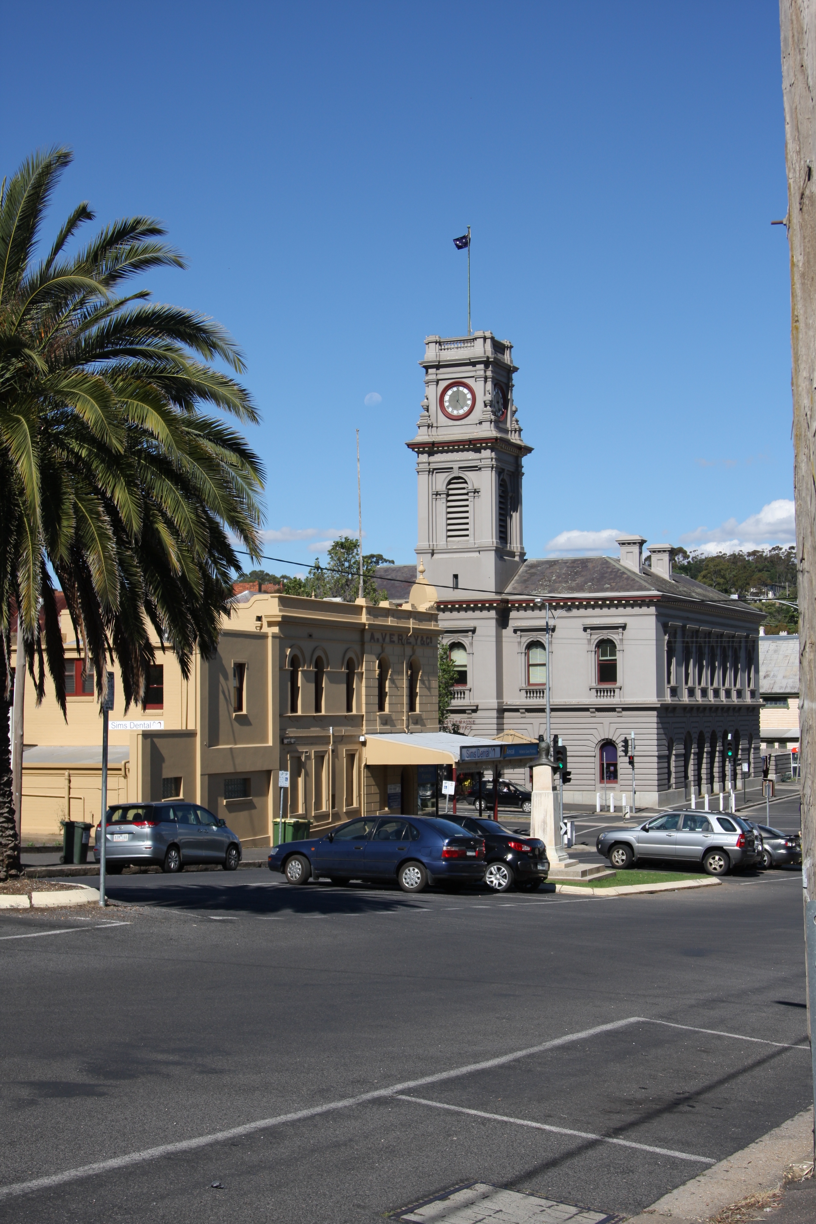 part of the Castlemaine post office building