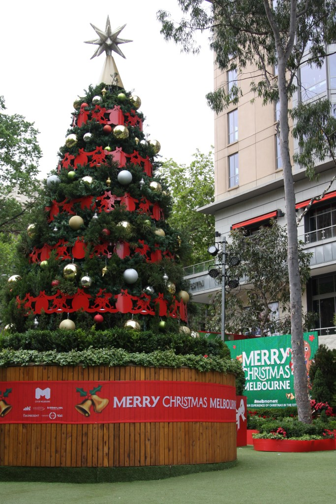 Christmas Tree in Melbourne