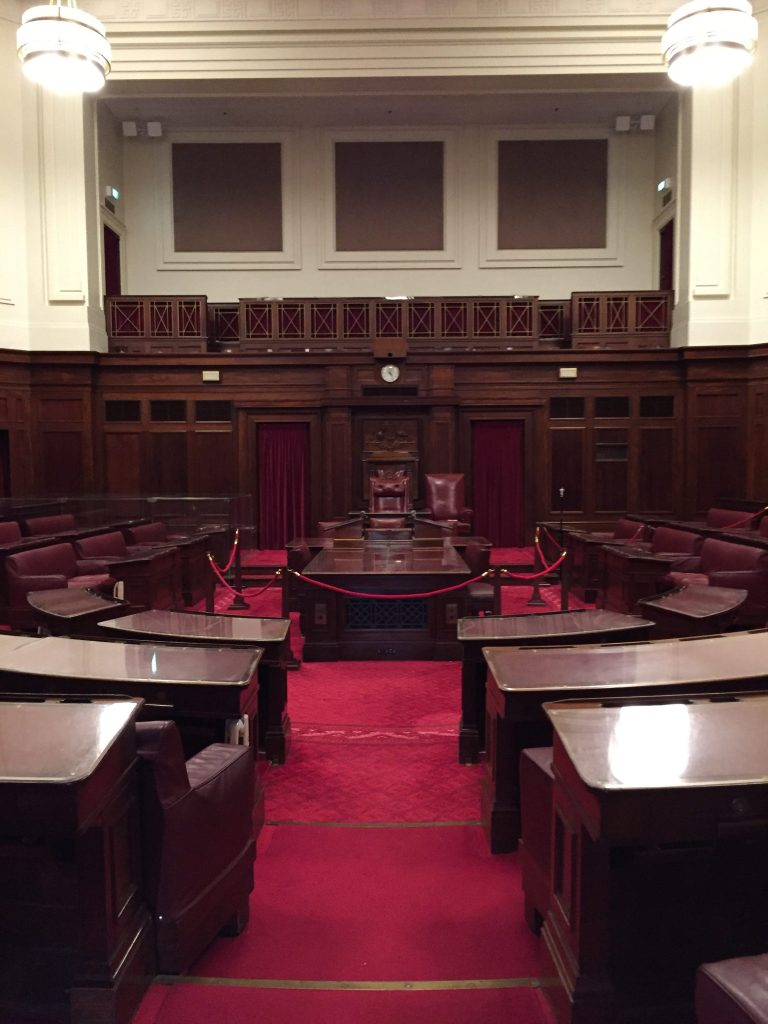 senate in old Parliament House