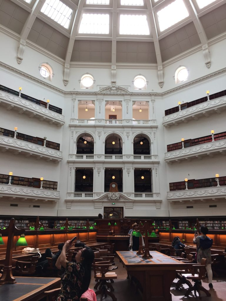 La Trobe Domed Reading Room in State Library of Victoria