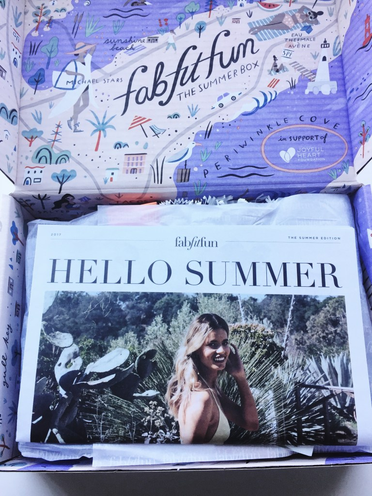 FabFitFun Summer 2017 Hello Summer Magazine