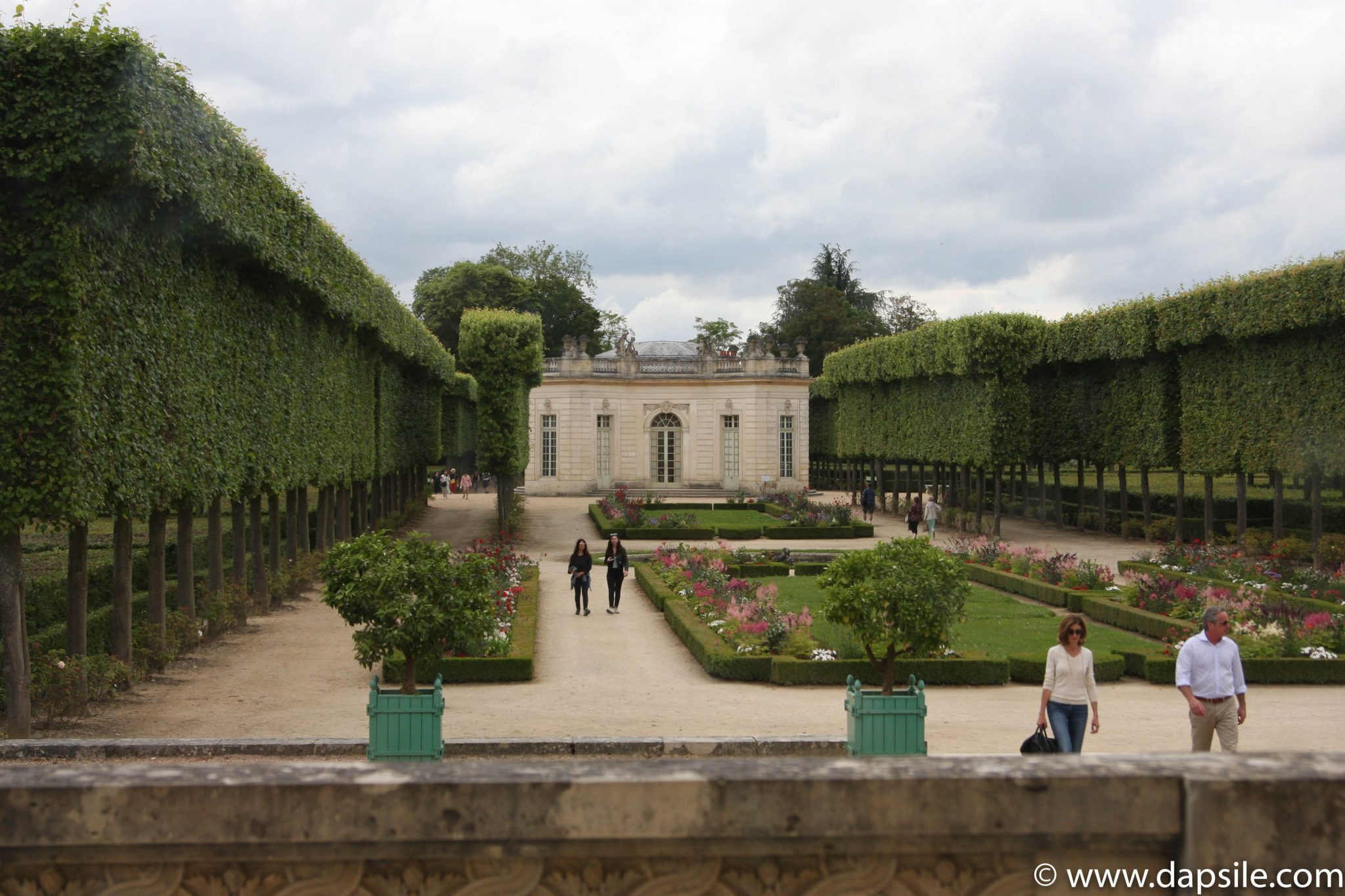 Petit Trianon Gardens at the Palace of Versailles in Paris Sights