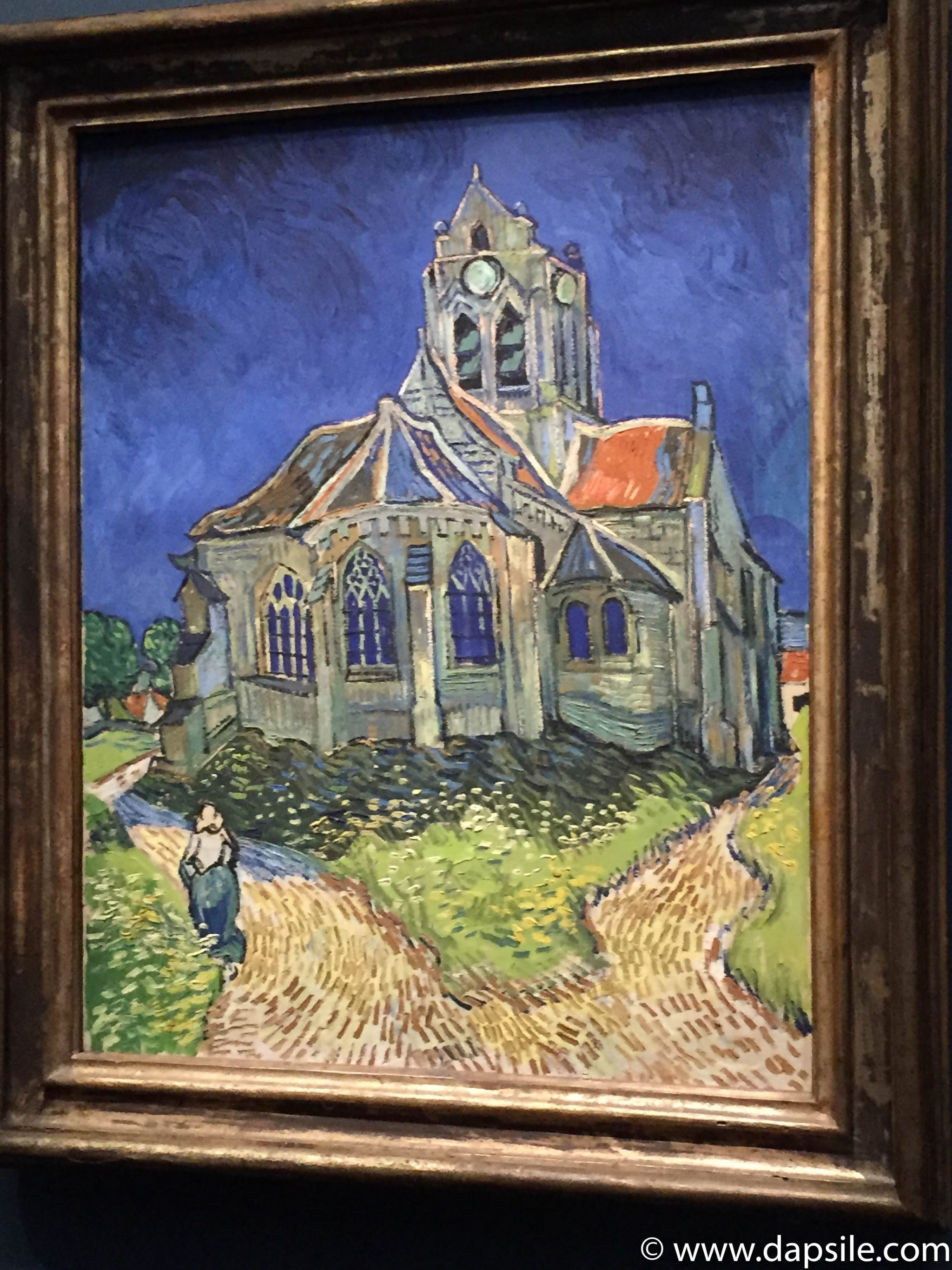 Vincent van Gogh Painting in the Musee d'Orsay in Paris