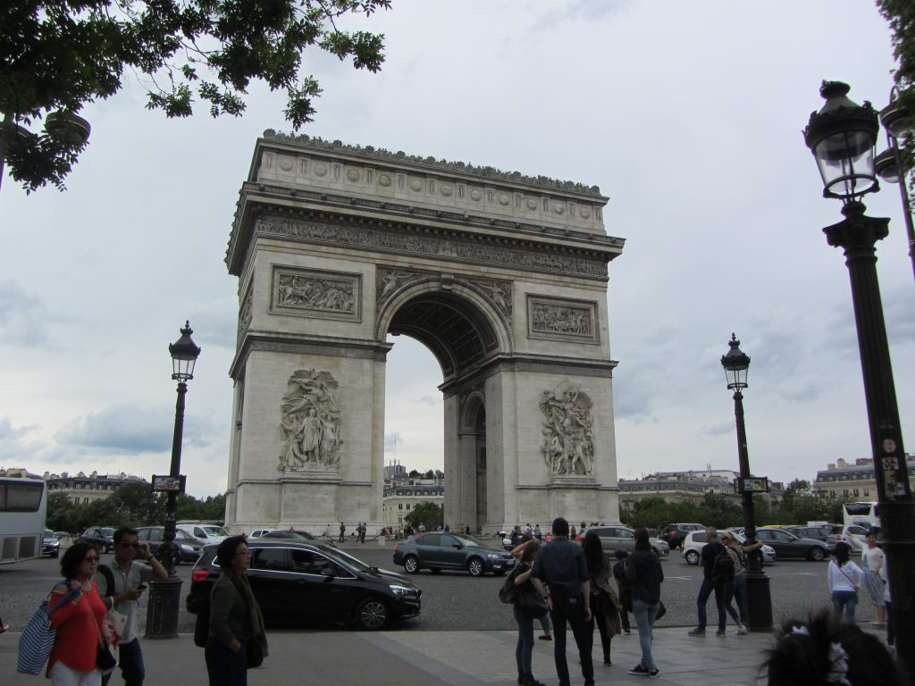 Arc de Triomphe is one of the things to do in Paris that aren't museums