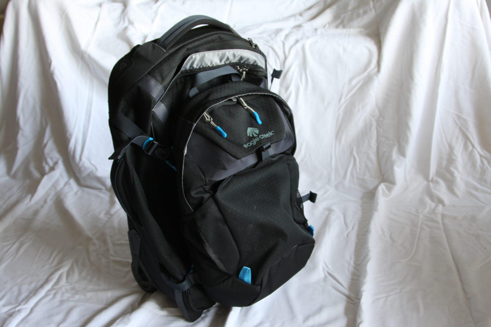 Eagle Creek Doubleback Wheeled Backpack with Daypack